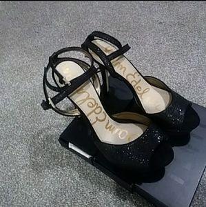 Sam Edelman Sparkle Plateform Heels